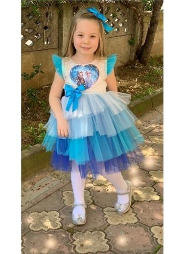 Riccotarz Kız Çocuk Şeker Kız Tütülü Elbise Renkli
